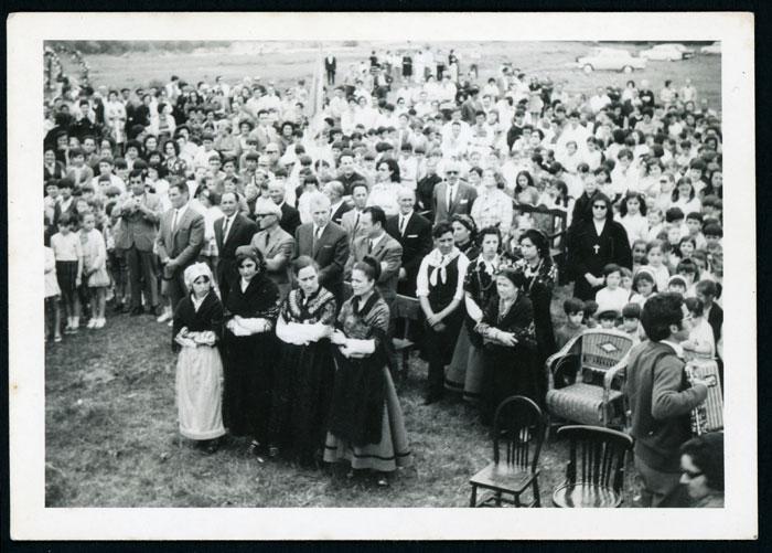 Fiesta en la era en Barrio de Nuestra Señora