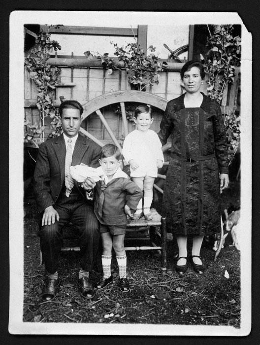 Familia Robles Prieto en Castro del Condado