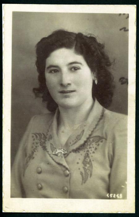 Retrato de estudio de Humildad López González
