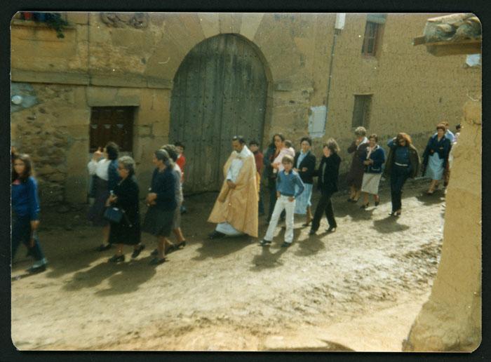 Procesión de la fiesta de San Miguel en Castro del Condado II