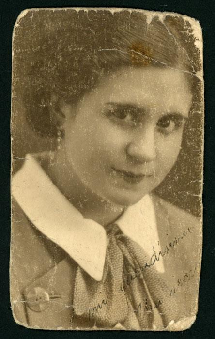 Retrato de Conchita Mancebo.