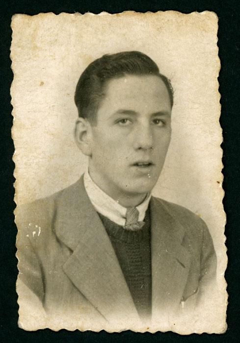 Retrato de Ángel Blanco