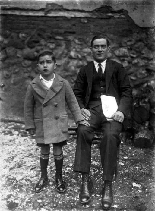 Retrato de Nicasio y Sebastián Honrado en Castro del Condado