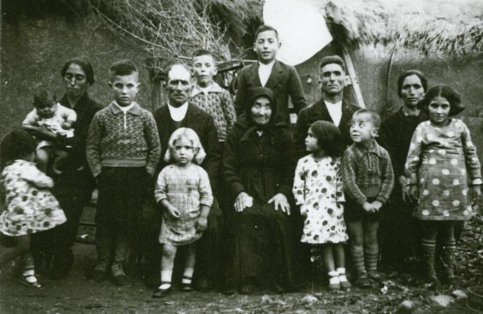 Retrato de una familia en Castro del Condado