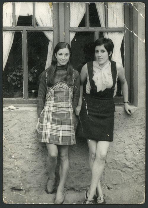 Irene Fernández y Sini Gago en la Rinconada en Devesa de Curueño