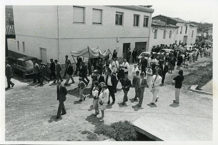 Procesión del Corpus Christi en Cerezales del Condado