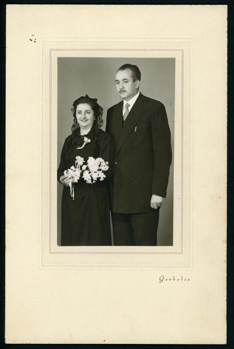Fotografía de boda de Pedro Robles y Fructusa Castro en Valladolid
