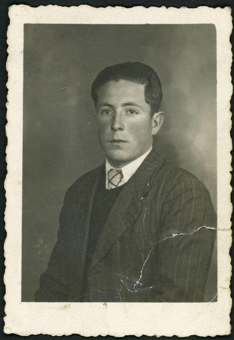Retrato de Néstor Díez