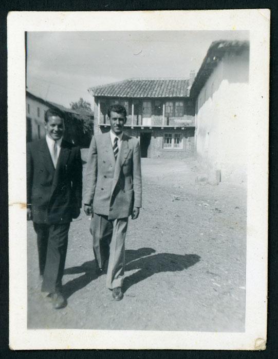 Sar Valladares e Isidro en Barrillos de Curueño