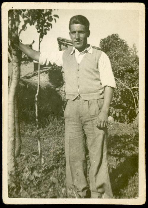 José Valbuena en Santa Colomba de Curueño
