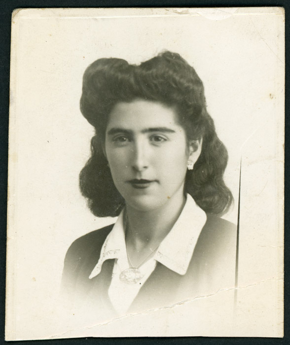 Retrato de estudio de Isabel de la Puente