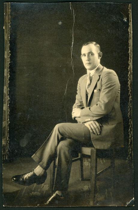 Retrato de estudio de Ismael García I