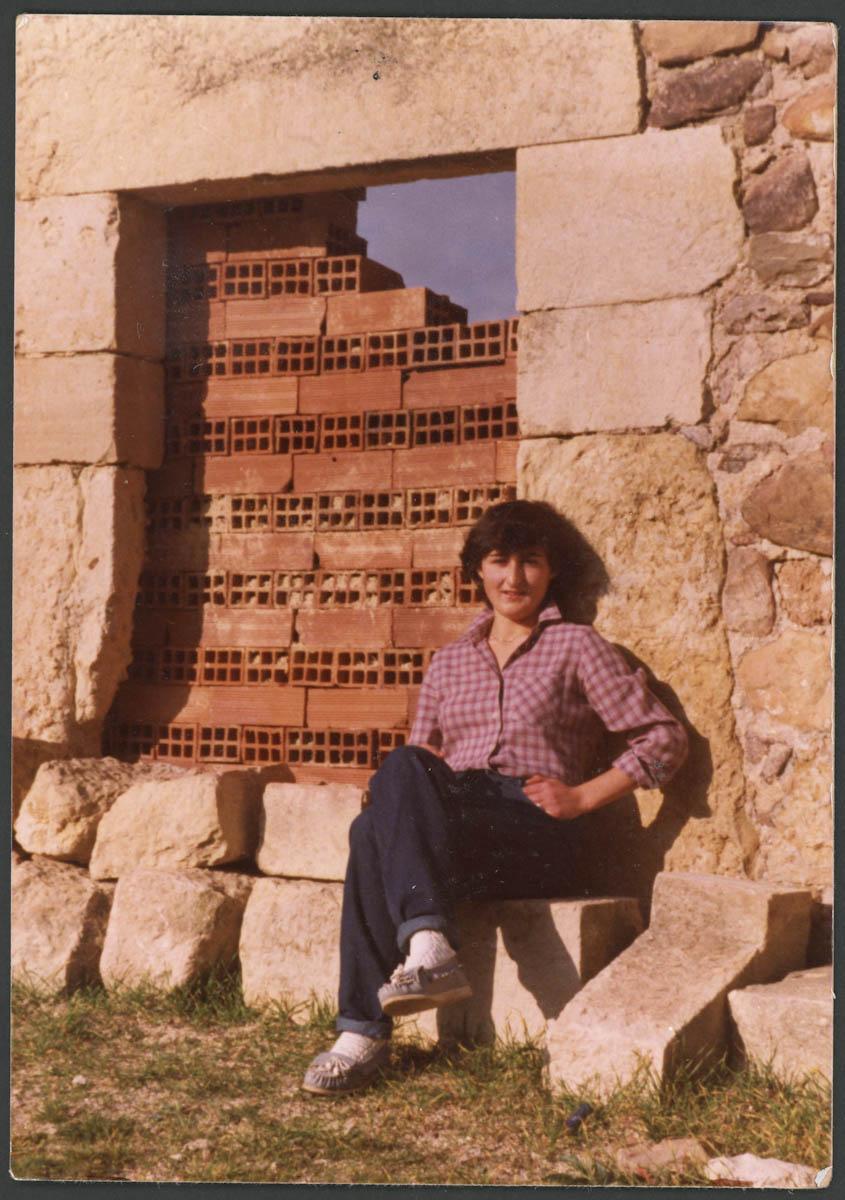 Retrato de Ana Campillo en Lugán