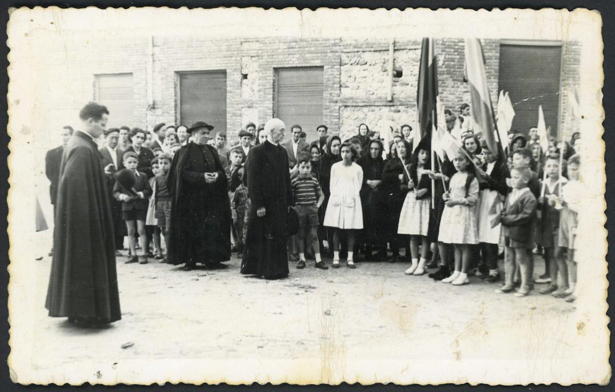 Acto religioso en Barrio de Nuestra Señora