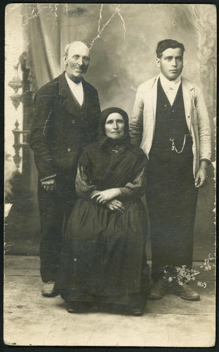 Retrato familiar de estudio