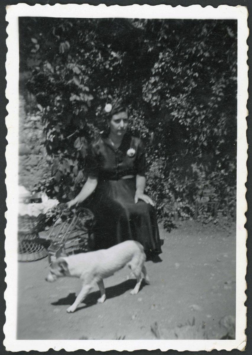 Retrato de Hermelinda de la Varga