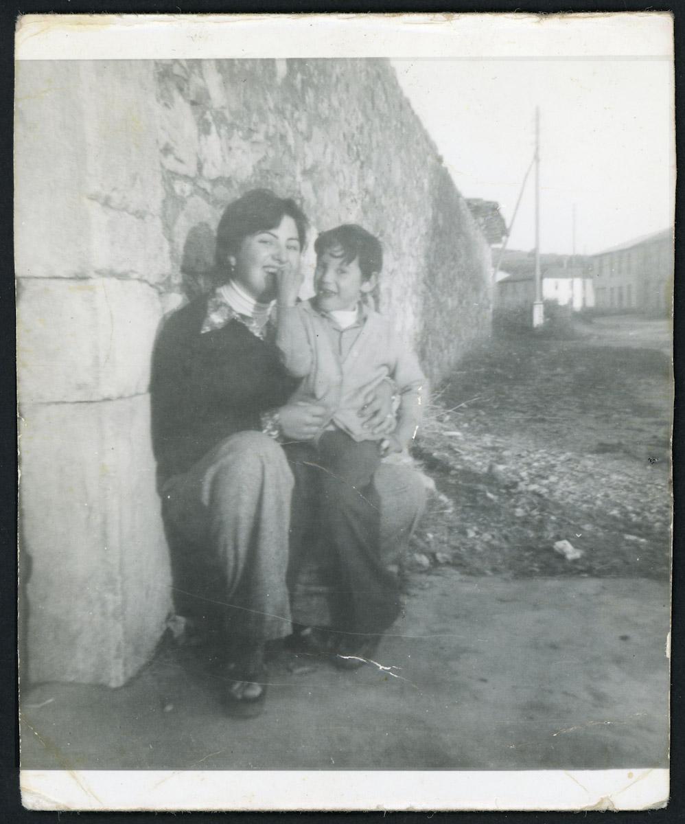 Retrato de Olga García y José Prieto (el chini)