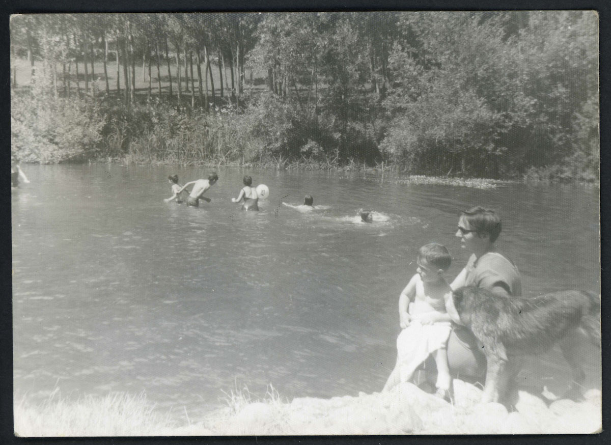 Baño en el río Porma en Lugán