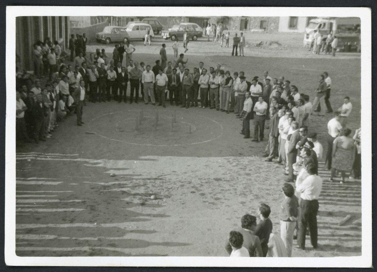 Concurso de bolo leonés en Lugán