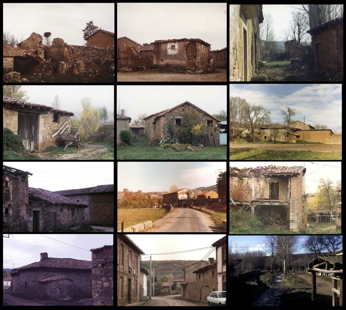 Algunas fotografía de la serie de Vicente González sobre el otoño en Lugán