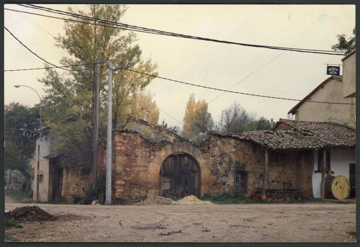 Casa de Lugán en ruina en la calle Las Eras
