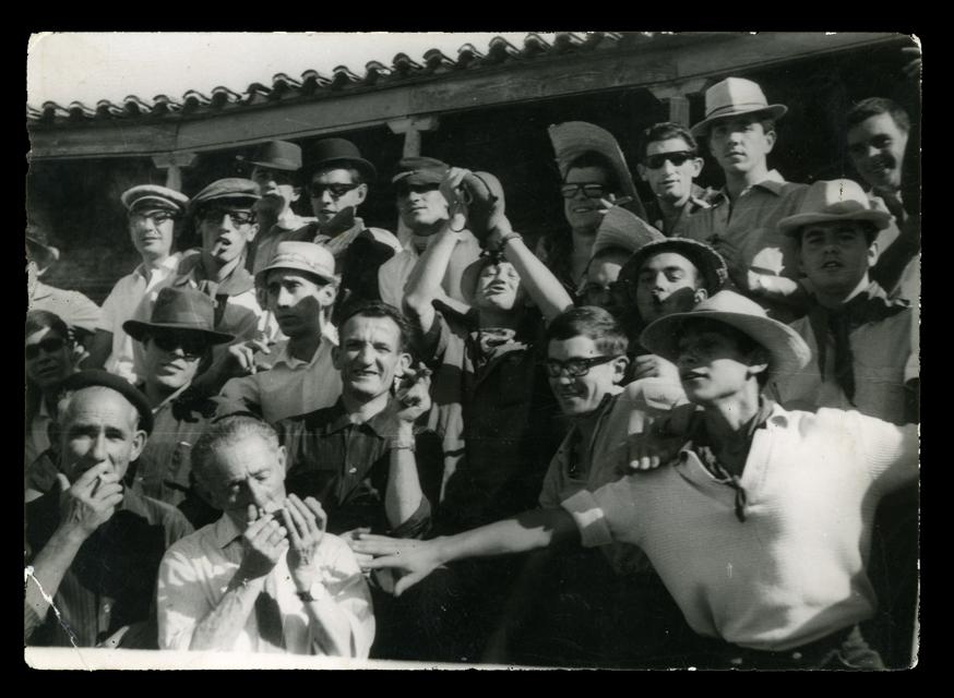 Andrés Martín y amigos en la plaza de toros La Florida de Peñaranda de Bracamonte