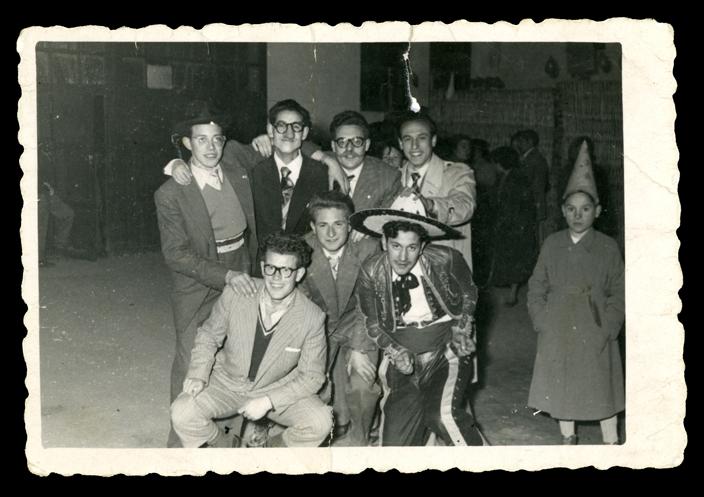 Andrés Martín y amigos en Carnaval en Peñaranda de Bracamonte