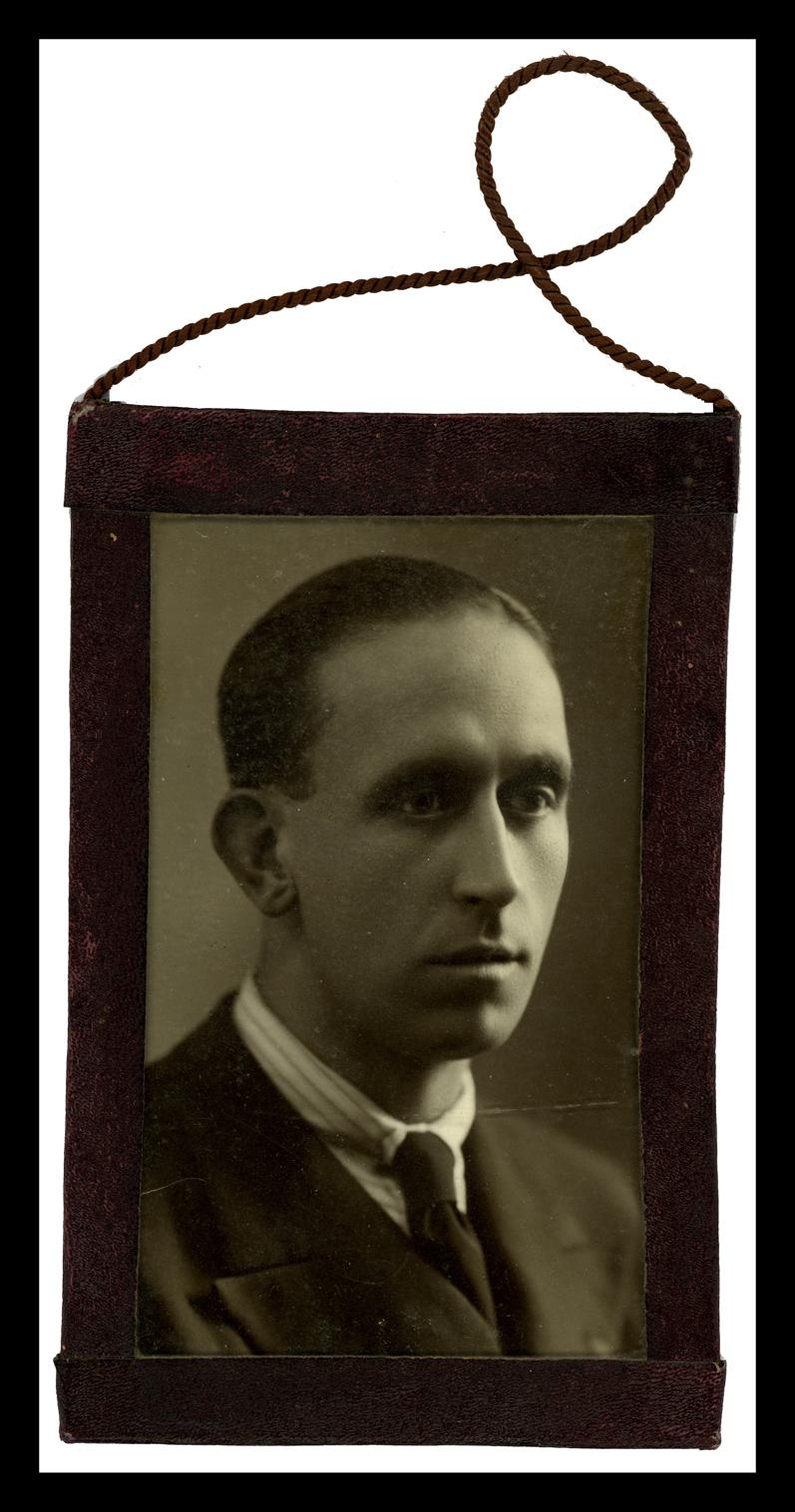 Retrato de Agustín Hernández Álvarez