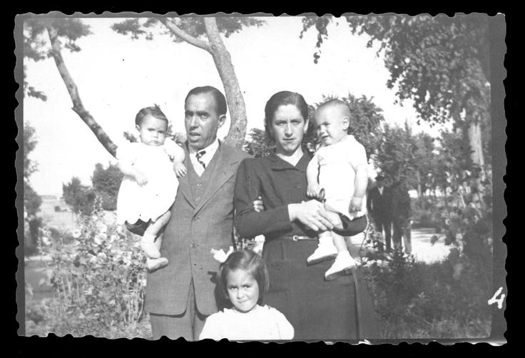 Foto de la familia Pierna Hernández en Peñaranda de Bracamonte