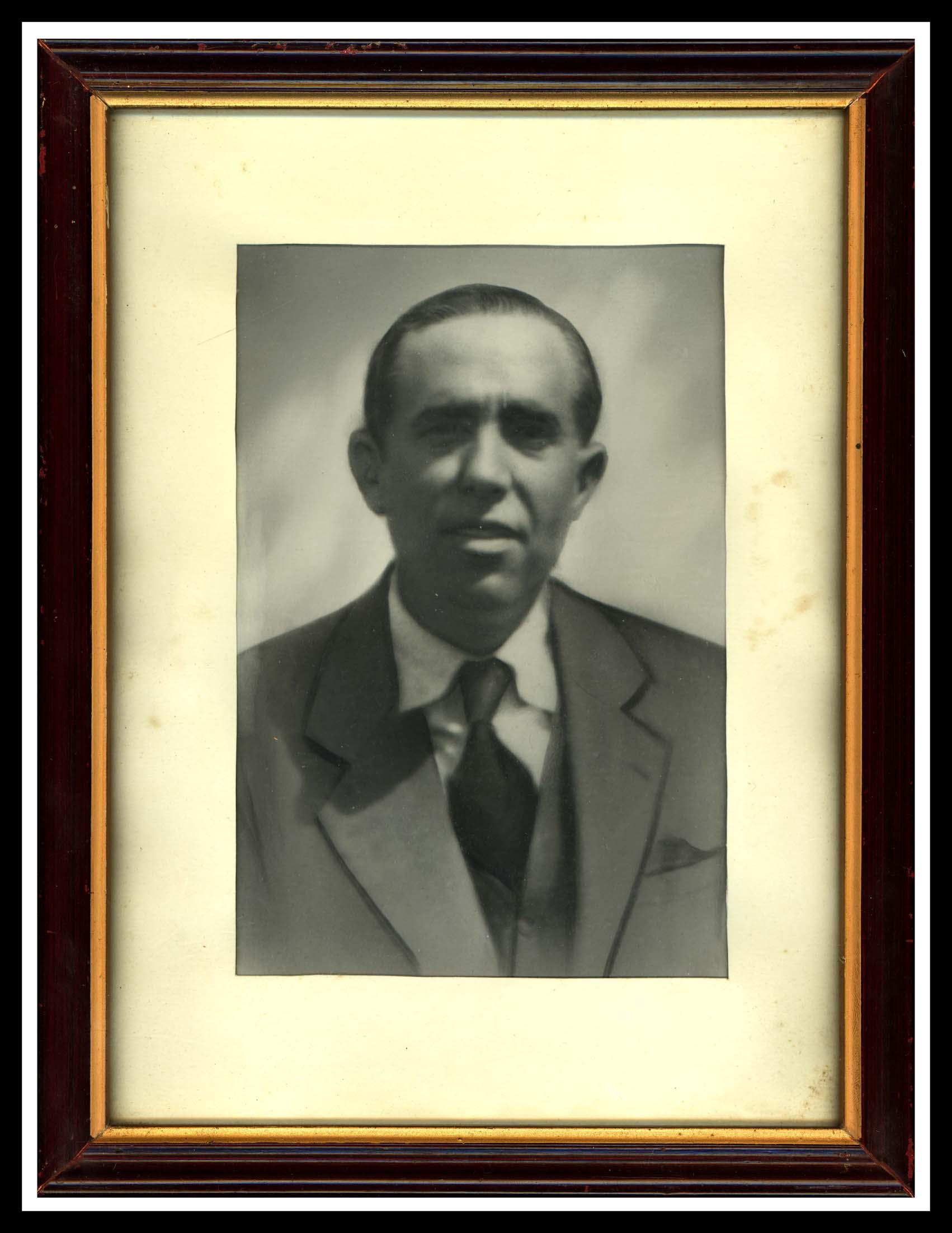 Retrato de Pedro Pierna Martín