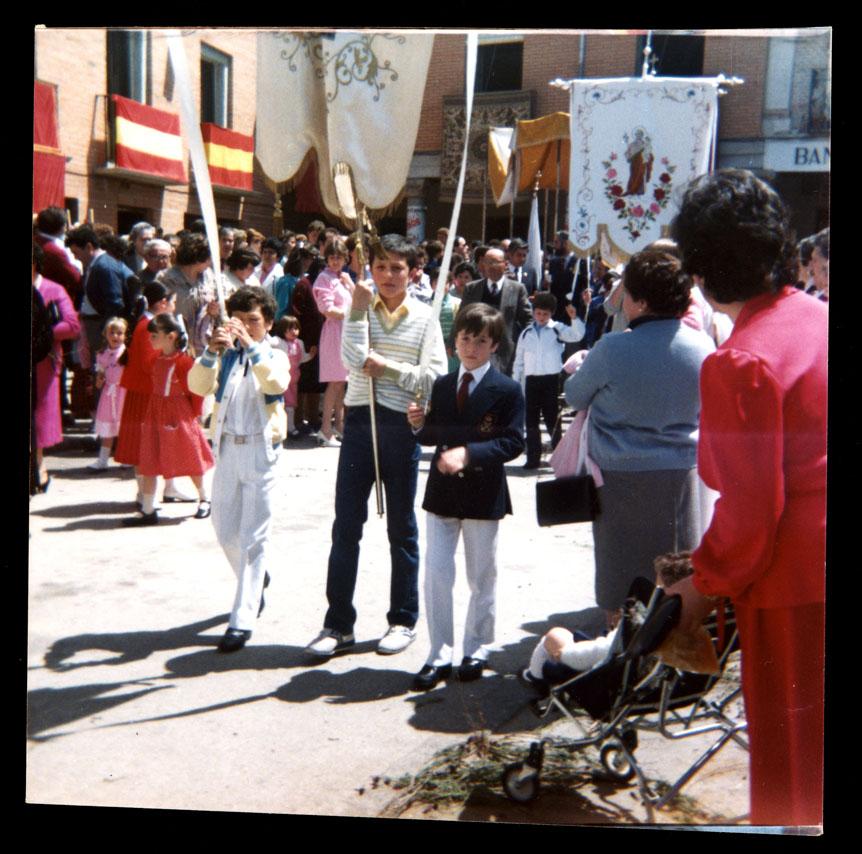 Procesión del Corpus en Peñaranda de Bracamonte