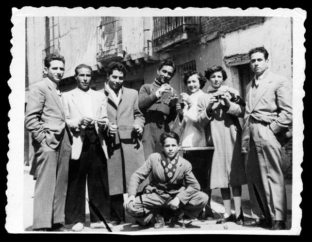 Familia Sánchez Zaballos en Peñaranda de Bracamonte