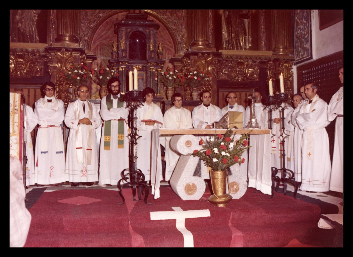 Primera misa de José Ramos en Peñaranda de Bracamonte