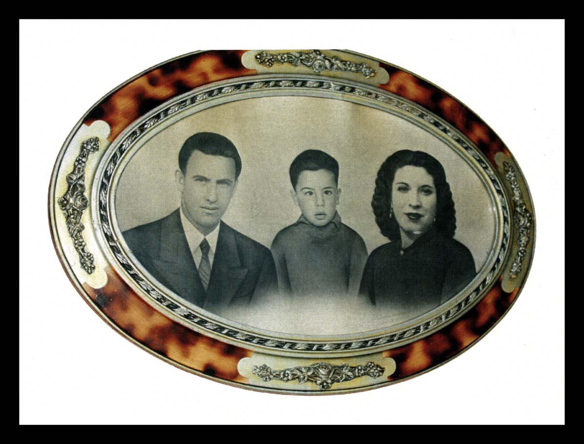 Fotografía de familia de José Nieto Espeso