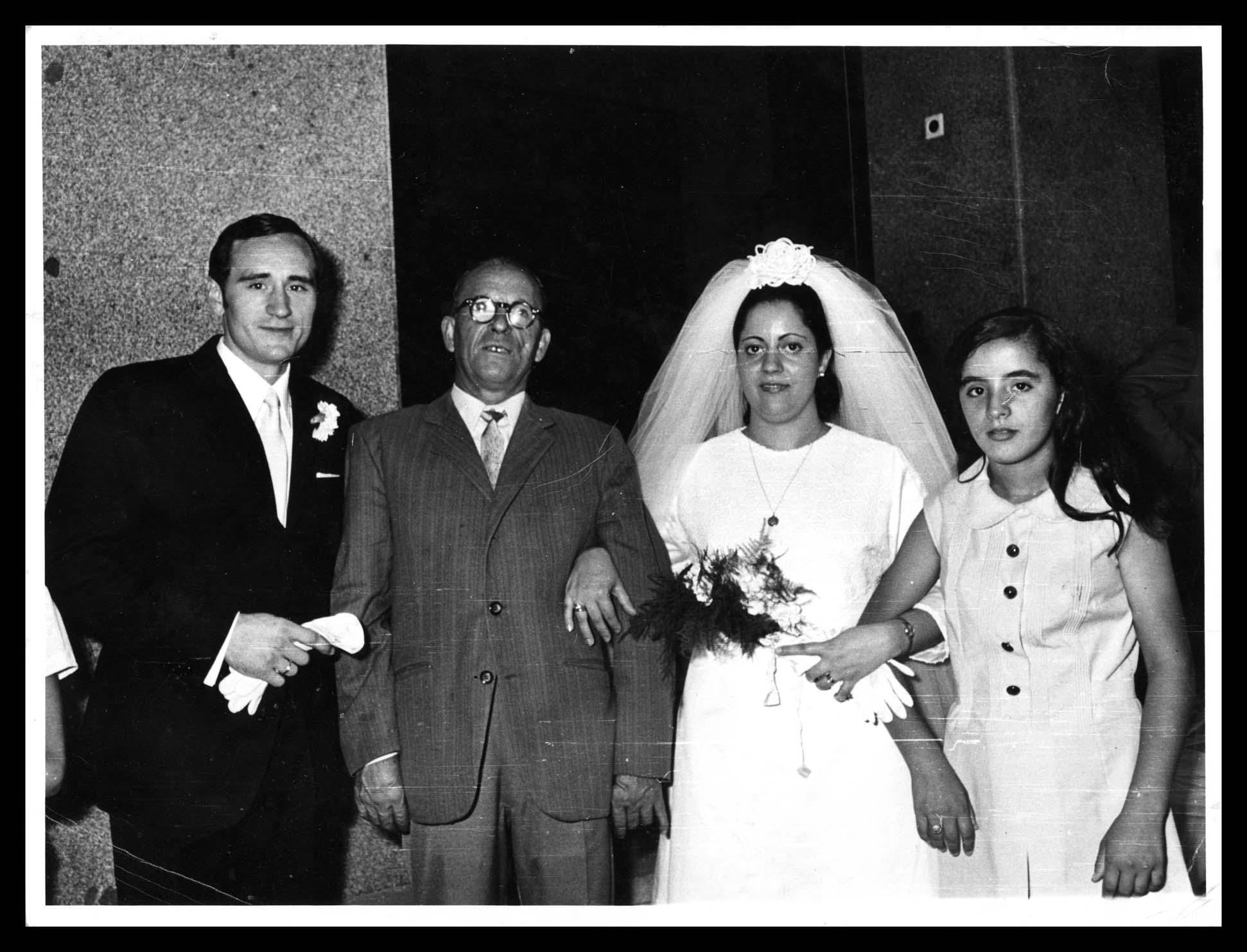 Boda de Pilar Nieto González y Antonio