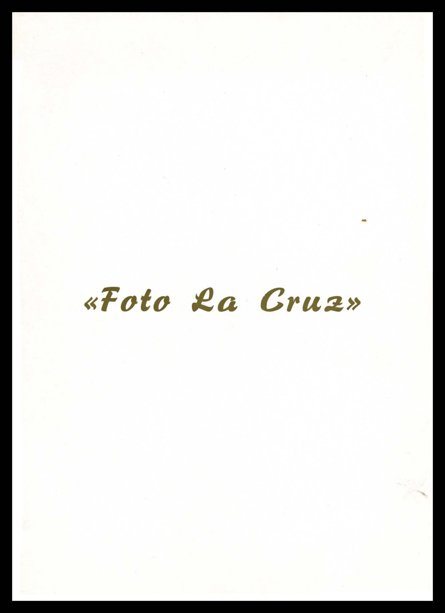 Fotografía de estudio de José Nieto Espeso