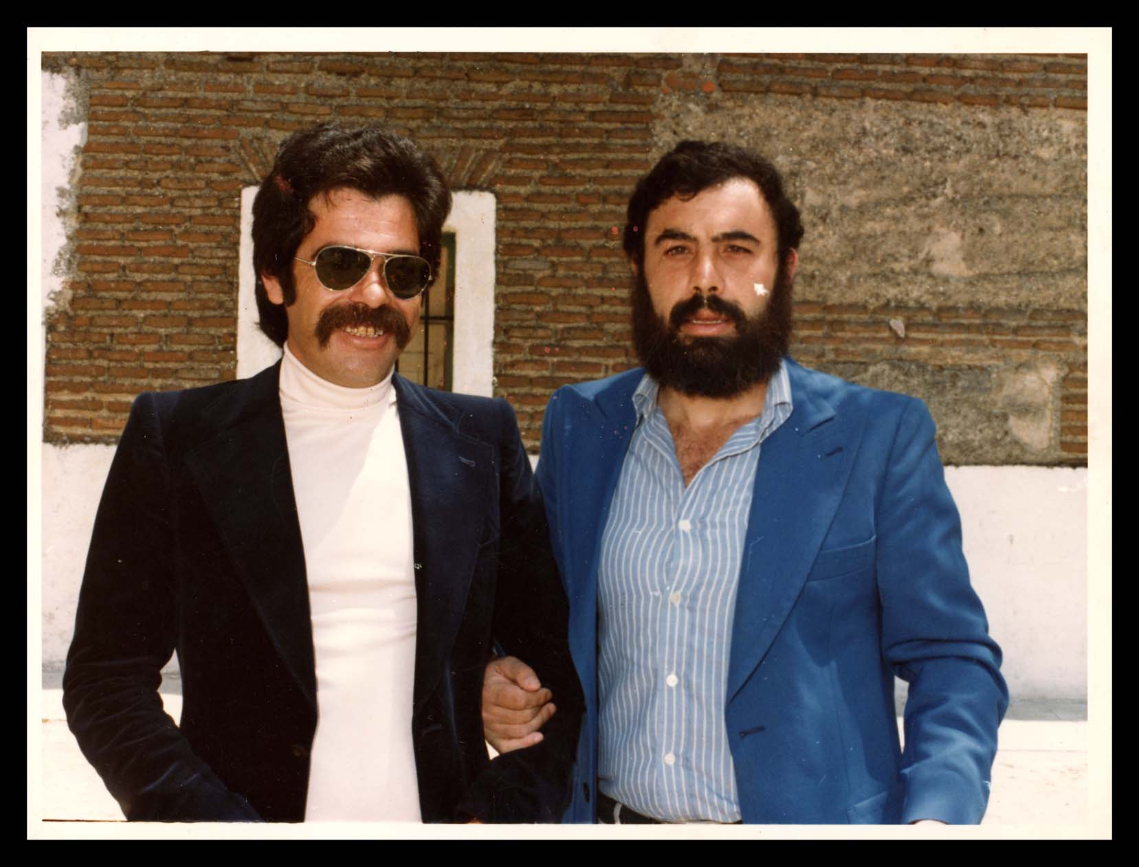 José Nieto Espeso con un amigo