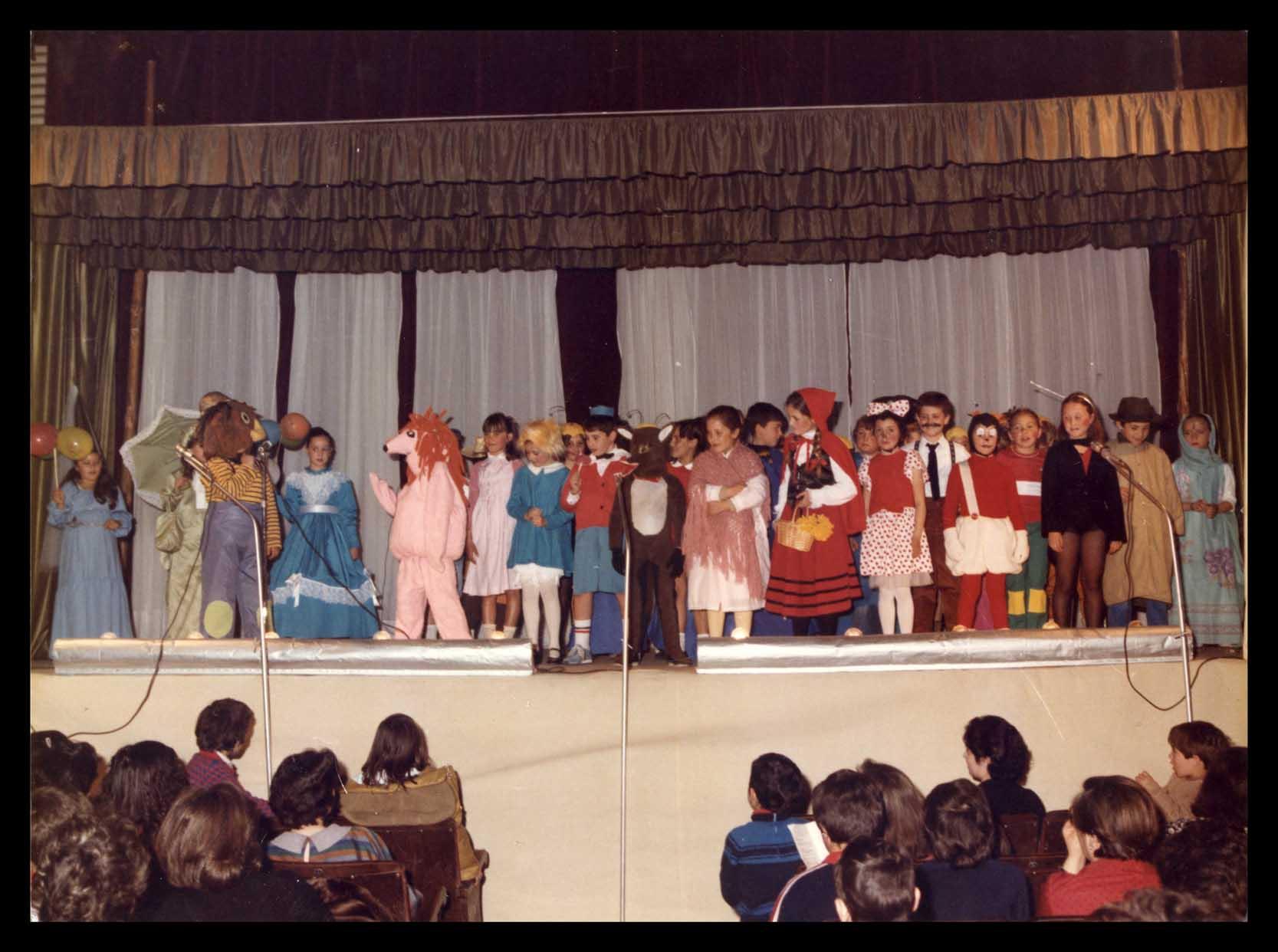 Fiesta del colegio de la Encarnación en Peñaranda de Bracamonte