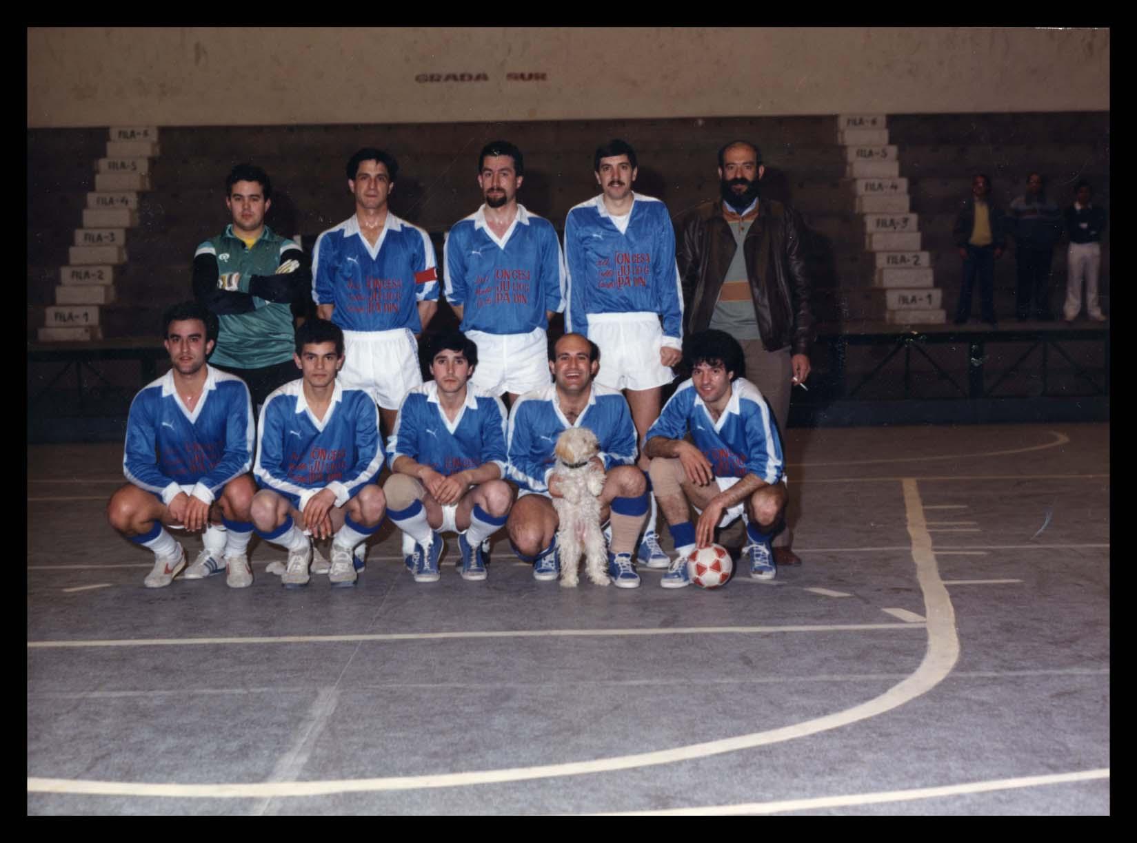 Equipo de fútbol sala ONJUPA en Peñaranda de Bracamonte