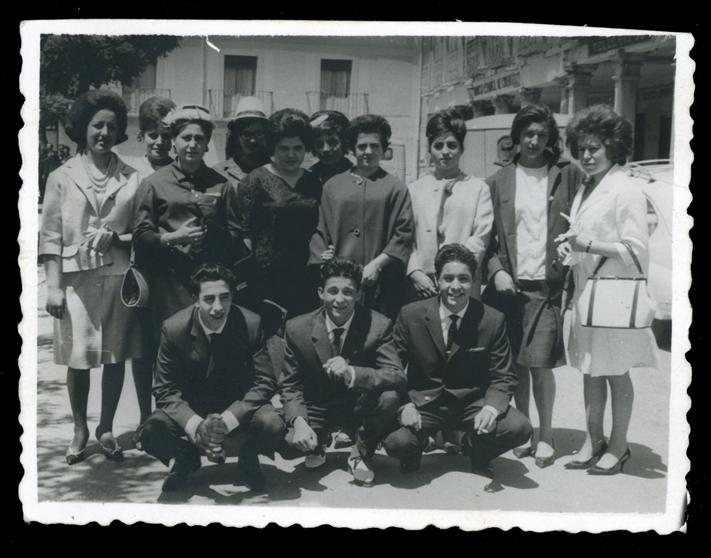 Pilar Hernández e invitados de la boda de su hermana Germanita en Peñaranda de Bracamonte
