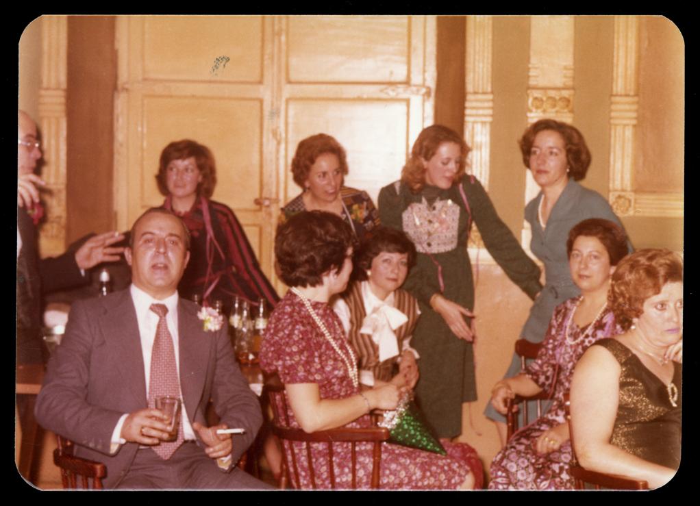 Pilar Hernández y amigos el martes de Carnaval en el Casino de Peñaranda de Bracamonte
