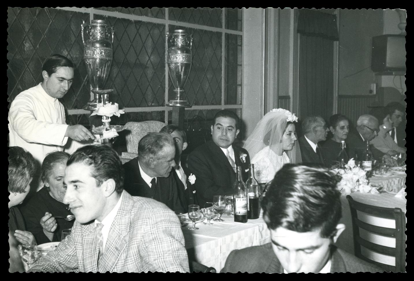Banquete de la boda de Pilar Hernández y Castor García en Ávila