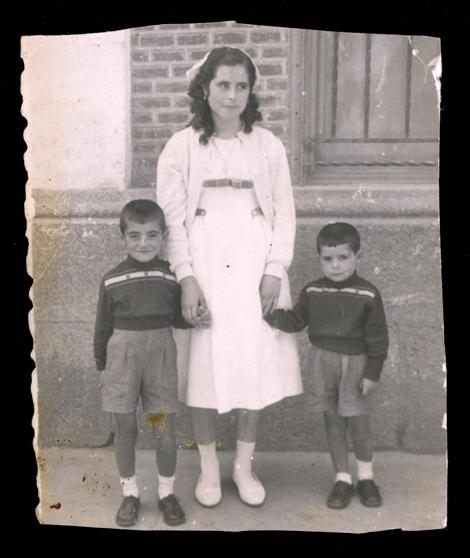 Ramona Ávila y sus hermanos en Peñaranda de Bracamonte